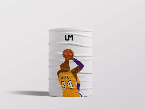 Kobe Bryant White UMask