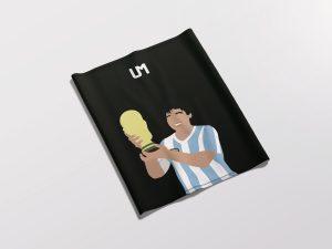 Diego Maradona Black UMask2