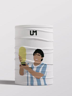 Diego Maradona White UMask