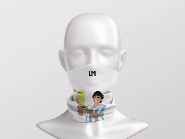 Diego Maradona White UMask3
