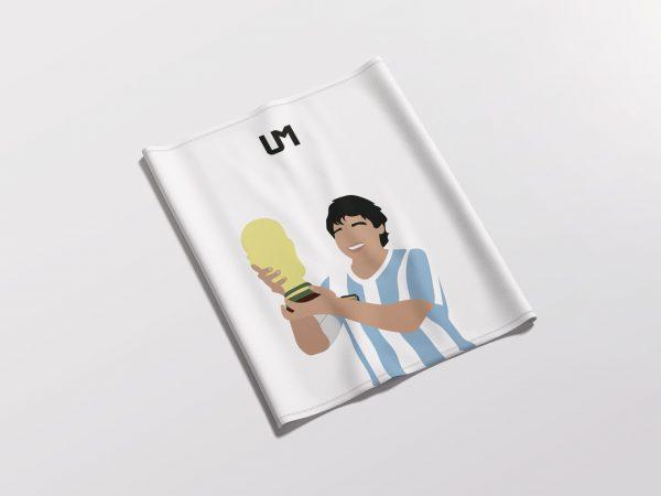 Diego Maradona White UMask2